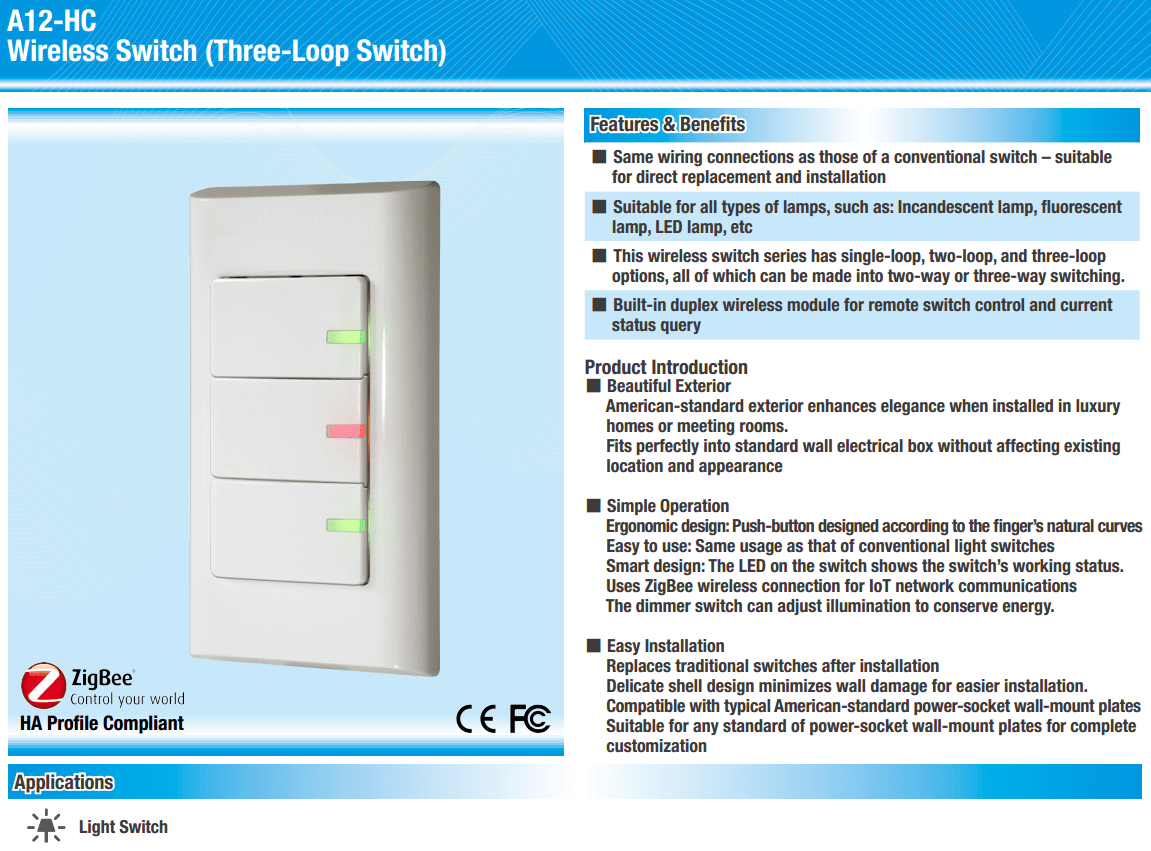 A12 Hc Alltek How To Replace A Light Switch Made Easy Related Products